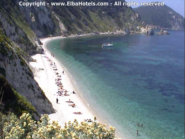 ElbaHotels.com The wonderful beaches of Elba Island.